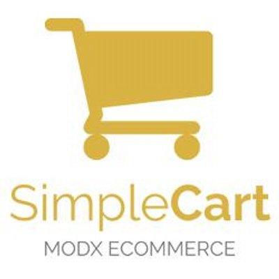 ModX SimpleCart e-commerce