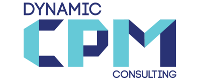 Dyanmic CPM Consulting - logo, graphic and website design and content management system setup